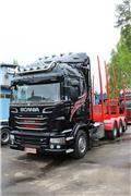 Лесовоз Scania R 730, 2016