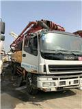 Isuzu 37 M, Concrete pump trucks