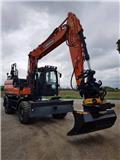 OMGÅENDE-Doosan DX 160 W-5, Uthyres, 2019, Wheeled excavators