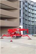 Teupen Leo 36 T, 2014, Compact self-propelled boom lifts