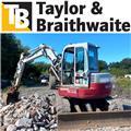 Takeuchi TB180FR, 2009, Midi excavators  7t - 12t