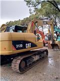 Caterpillar 312 D, 2016, Crawler excavator