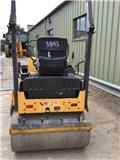 Volvo EC 25, 2013, Twin drum rollers