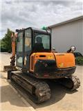 Hanix H 75 C, 2014, Mini excavators  7t - 12t