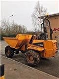 Thwaites 6t forward tip dumper, 2009, Site dumpers