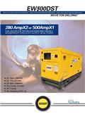 Kubota V3300 diesel engine welder EW500DS, 2020, Welding Machines