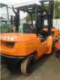 Toyota 02-7 FD 50, 2016, Diesel trucks