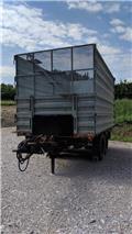 Müller-Mitteltal EDU-TA 8,6, 1992, Skip loader trailers