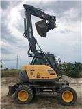Mecalac 714 MW、2010、旋轉式挖土機(掘鑿機,挖掘機)
