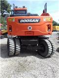 Doosan DX 140 W-3, 2016, Mobilbagger