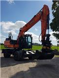 Doosan DX 170 W, 2017, Wheeled excavators