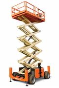 JLG 530LRT, Scissor lifts, Construction