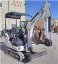 Bobcat E 14, 2012, Mini excavators < 7t (Mini diggers)