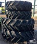 BKT NEW Adjustable wheel/row crop wheel set 380/85R28, Dupli kotači