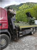 Scania - Stoiber mobile Fräskopfentrindung, 2017, आरा मशीन