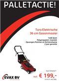 Toro 36cm elektrische Gazonmaaier, Loopmaaier