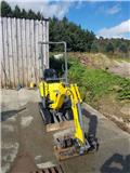 Wacker Neuson 803, 2016, Mini excavators < 7t (Mini diggers)