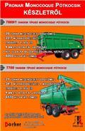 Pronar T 669/1, 2015, Remorci rabatabile