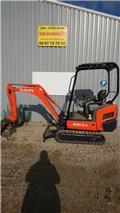 Kubota KX 015-4, 2013, Mini excavators < 7t (Mini diggers)