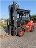 Linde H80T-02 396、2012、LPGフォークリフト
