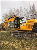 JCB JS 370 LC, 2016, Crawler excavators