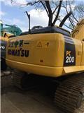Komatsu PC200, Excavadoras de cadenas