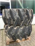 Trelleborg 2 x Kompletträder 28L-26 TT 20PR T418FS, 타이어, 휠 및 림