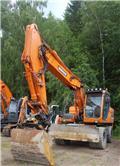 Doosan DX 170 W, 2011, Hjulgrävare