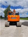 OMGÅENDE-Doosan DX 140 LCR-5, Uthyres, 2019, Bandgrävare