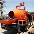 30 m³/h Diesel Concrete Pump with Mixer -Factory, 2017, Betonpumper