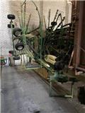 Krone Swadro TC 880, 2018, Rastrilladoras y rastrilladoras giratorias