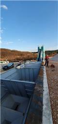 Constmach Stationary Concrete Batching Plant 120 m3, 2021, Dávkovače betónu