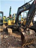 沃尔沃 EC 55、2017、小型挖掘机