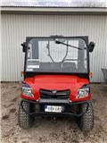 Kioti U3 diesel, hytt 1.000tim, 2015, UTV:er