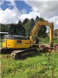 Komatsu PC 88 MR, 2007, Mini excavators  7t - 12t