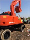 Doosan DH 130, 2010, Mga wheeled excavator