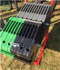 Kaber Cast iron counterweight 1200kg, 2021, Contrapeso delantero