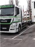 MAN TGS 28.480 6x4-4BL, 2016, Tømmerbiler