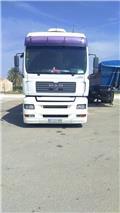 MAN RIGIDO + REMOLQUE, 2005, Box body trucks