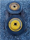 Zetor 25 etuvanteet Toinen rengas pitää ilmansa, Lisävarusteet ja komponentit