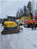 Wacker Neuson 50Z3, 2010, Mini bagri <7t