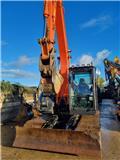 Hitachi ZX 135 US-6, 2018, Crawler excavators