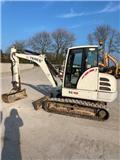 Terex TC 48, 2007, Mini excavators < 7t (Mini diggers)