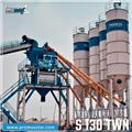 PROMAX STATIONARY CONCRETE BATCHING PLANT S130-TWN, 2020, Menginstallaties