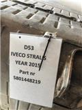 Iveco EXHAUST SILENCER EURO 6 : P/N: 5801448219, 2015, Chassis og suspension