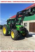 John Deere 6210, 2001, Tractors