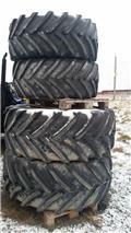 Michelin XeoBib VF på fälg MF 6470/6480/6485, Cits traktoru papildaprīkojums