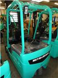 Mitsubishi FB16NT, 2009, Electric Forklifts