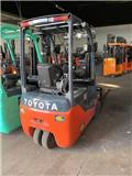Toyota 8 FB EKT 16, 2013, Elmotviktstruckar
