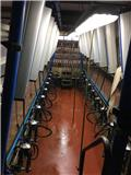 Delaval 2X10 solidex, Milking equipment